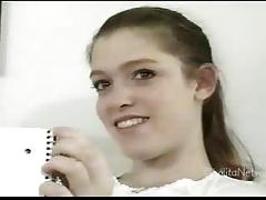 Katie First time masturbating HOT