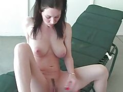 Big tit MILF in pigtails