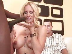 Chelsea gets it on with the black cock instead of the white