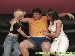 Two Hot Babes Play Their Toy And Sucked A Dick