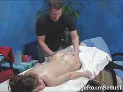 Horny Teen Gets Hidden Camera Massage