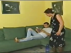 HORNY GERMAN MOM FACIALIZED BY GUY ROLEPLAY JB R