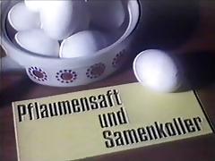 Vintage 70s german Pflaumensaft und Samenkoller cc79