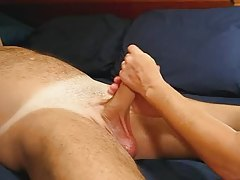 Cum Spurting Lube Handjob