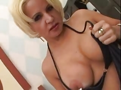 ALICIA Blond Mature Babe ANAL entry