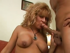 LYNIX Busty Mature Mom loves Anal