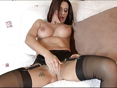 Hot Mature MILF in Stockings