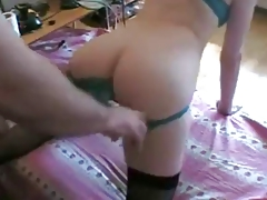 Teen Slave Is Buggered And Spunked On