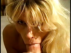 Close Up on Blonde Sucking Expert by TROC