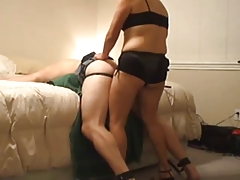 Strapon Wife Using Hubby 039 s Ass