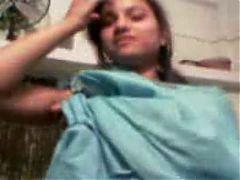 Teen Shy Hindi Girl Shows Naked
