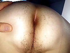 Looking At Her Hairy Asshole Finger Her To Nice Orgasm