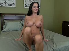 Interview Of A Blackhaired Mature