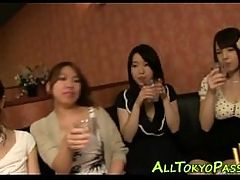 Asian Babes Fuck At Orgy