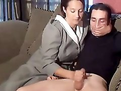 Stepmom & Stepson Affair 77 An Embarrasing Handjob