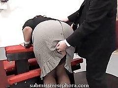 Milf Secretary Pays The Price