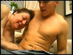 Young Fit Guy Fucks An Ssbbw Granny