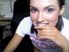 Gorgeous 18yo Teen Babe Anal On Webcam