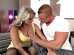 Horny MILF And Her Young Lover More Videos At Redbrazzers