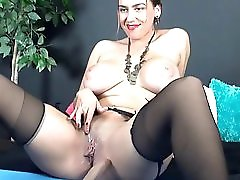 Busty Milf Cock Domination By Kr