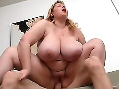 He Brings Bbw Home For Sucking And Cock Riding