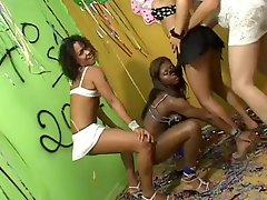 Brazilian Shemale Samba Party!!