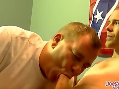 Skinny Leroy Gets His Big Dick Sucked By Some Horny Dude