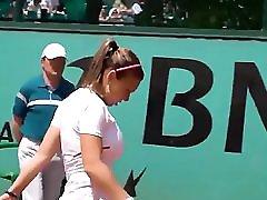 Simona Halep Hugh Boob Tennis Beauty