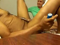 Home Video Blonde Mature Fucks A Rasta Man