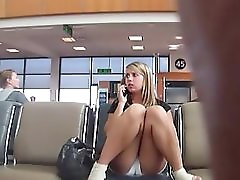 Hidden Cam At Airport By Troc
