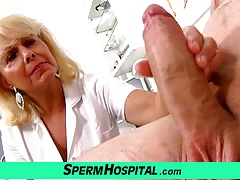 Wicked Lady Doctor Koko CFNM Hospital Handjob