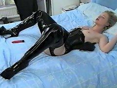Irish Slut Tiffany Walker Solo Action In Boots