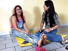 Brazilian Tickle Dare Feet