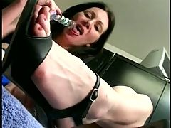 Sexy Mature Masturbates And Squirts By Wf
