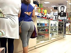 H Town Latina Wedgie In Grey