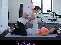 Puremature Flexible Hot Milf Jewels Jade Workout