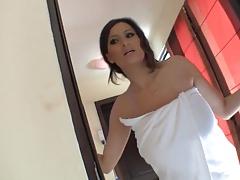 Sensual Jane Hot In Sauna