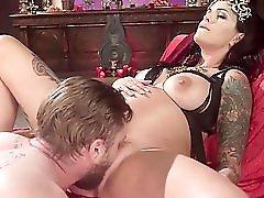 Divine Fertility Pregnant Woman Dominates Slave Boy!