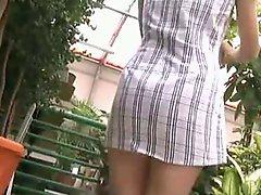 Upskirt No Panties 7