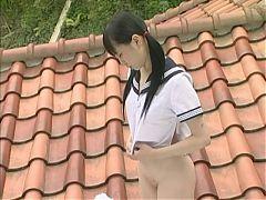 Hazuki Shizuka On The Roof 2of2