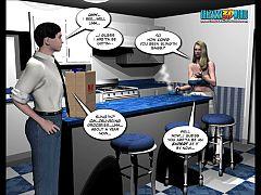 3d Comic Mrs Richards Adventures