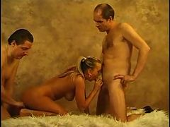 2 Daddies With Younger Woman
