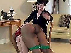 Black Girl Getting Spanked