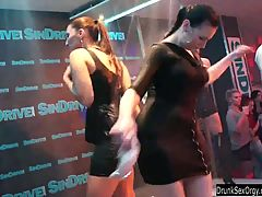 Bisexual Club Chicks Having Fun