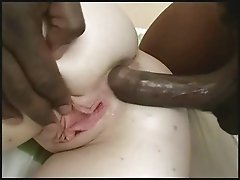 British blonde fucks a black guy part 4