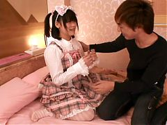 Japanese Teen Gets Banged