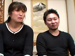47yr Old Wife Hinobu Nakajima Cuckolds Hubby Uncensored