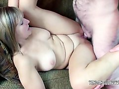 Blonde Liisa Getting Pounded In Her Mature Twat