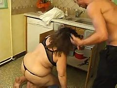 Fatty Mature Mom With A Big Ass Seducing A Stranger
