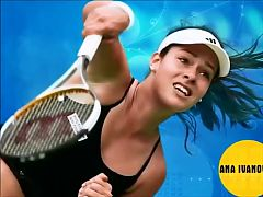 Ana Ivanovic Sexy Moments